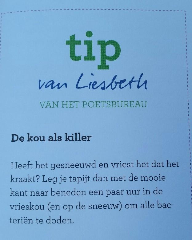 Tip van Liesbeth