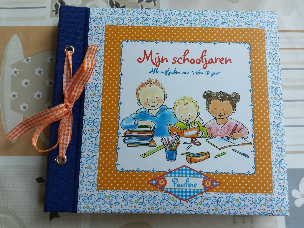 Mijn schooljaren invulboek Pauline Oud