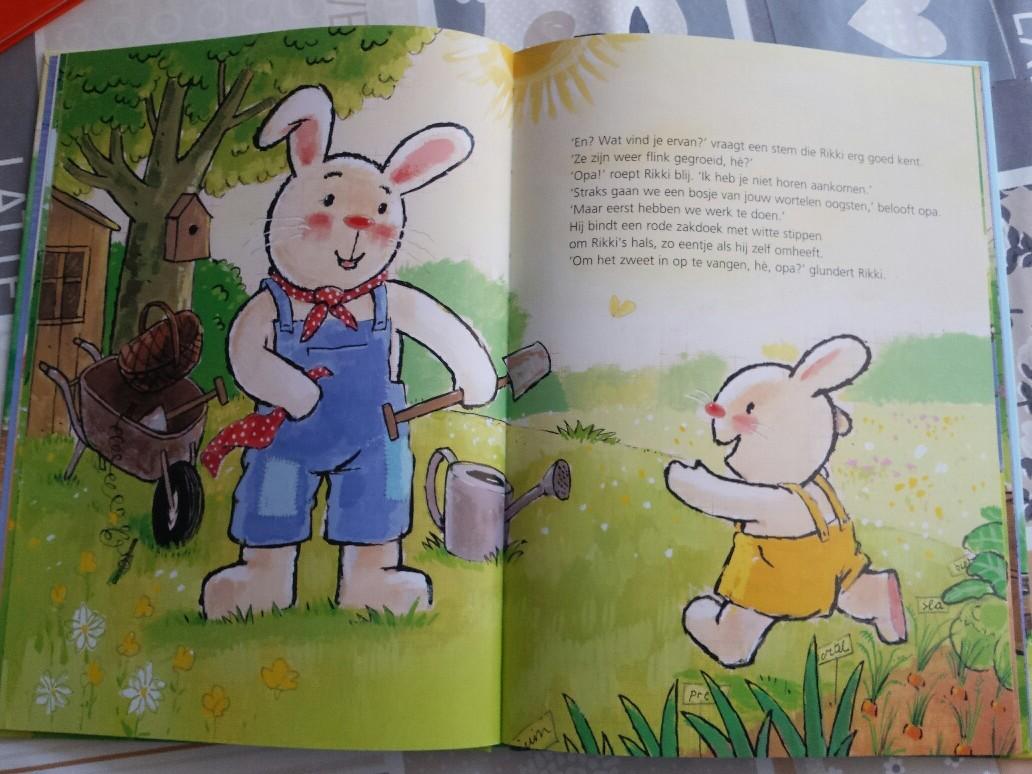 kinderboekenweek rikki en de tuin van opa