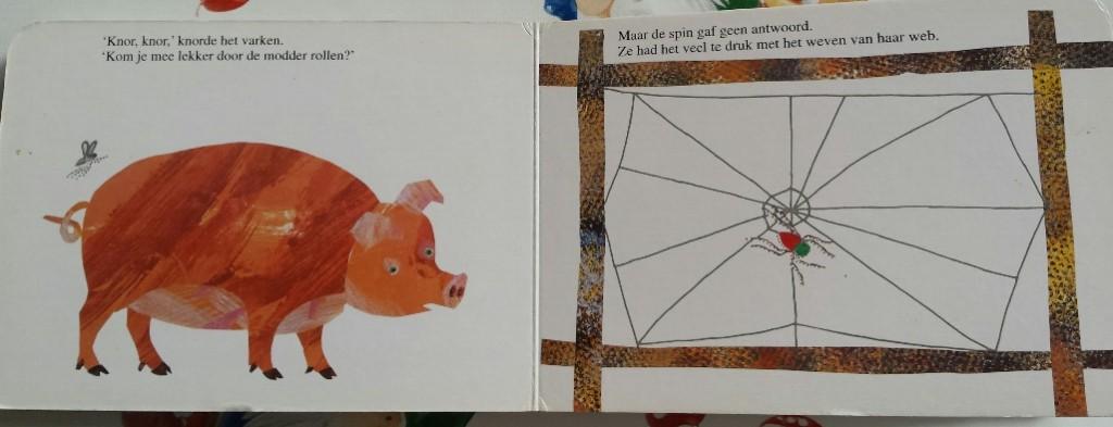 herfst voorleesboeken de spin die het te druk had