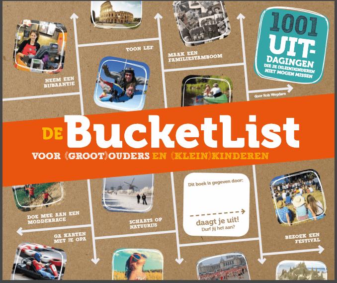 bucketlist voor grootouders en kleinkinderen