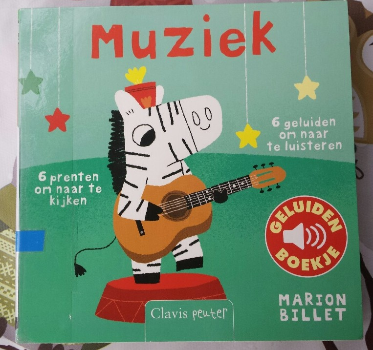 muziek boek peuters