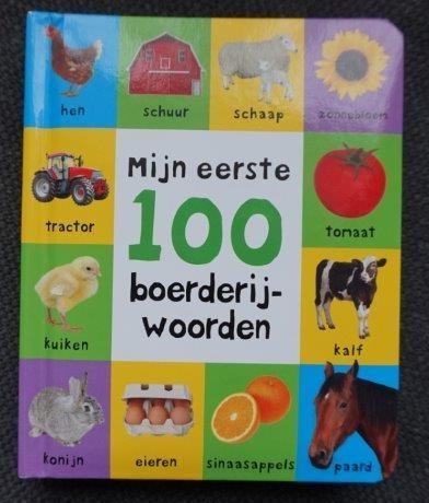 Mijn eerste 100 boerderij woorden