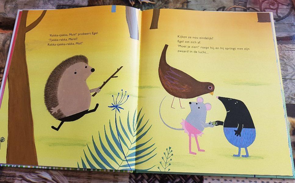 prentenboek geen tijd voor je kind