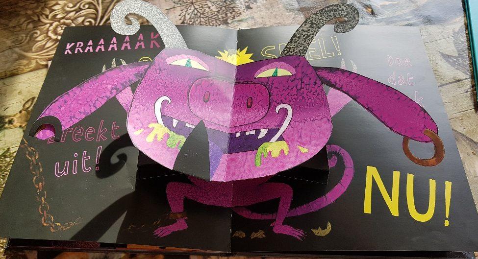 paars monster