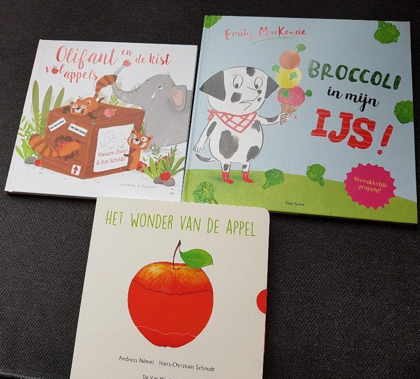 prentenboeken over groente en fruit