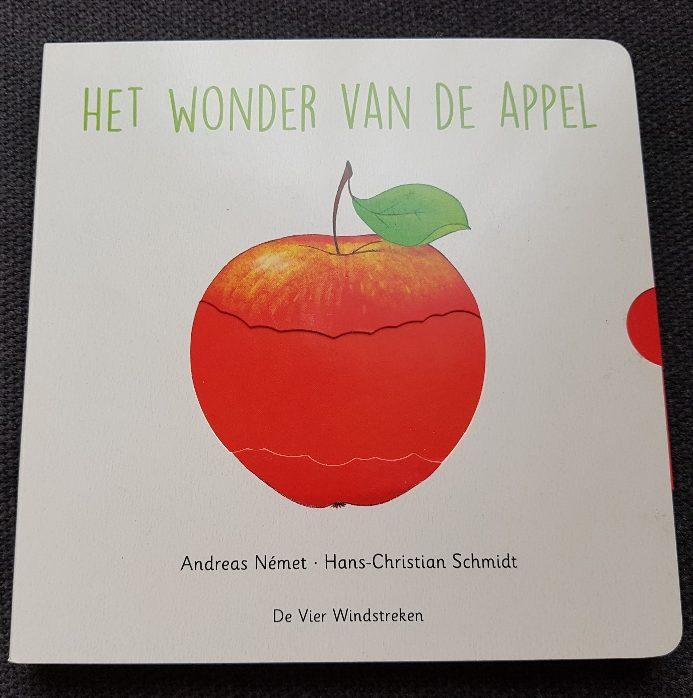 prentenboek over groente en fruit