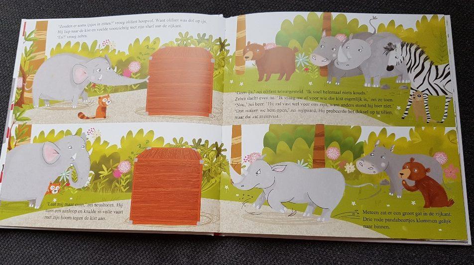 olifant en de kist vol appels prentenboek over groente en fruit