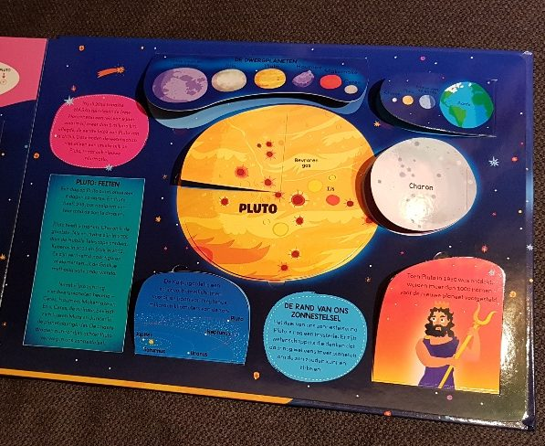 ons zonnestelsel pluto