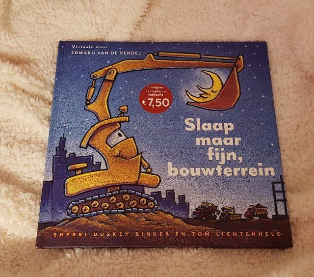 Prentenboek TopTien Slaap maar fijn, bouwterrein