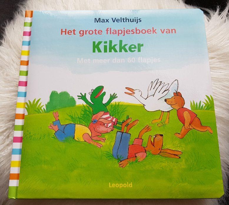 flapjesboek van kikker