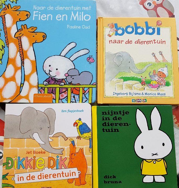 boeken over de dierentuin