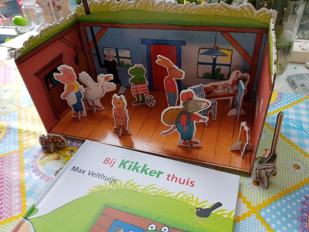 speelset en prentenboek kikker