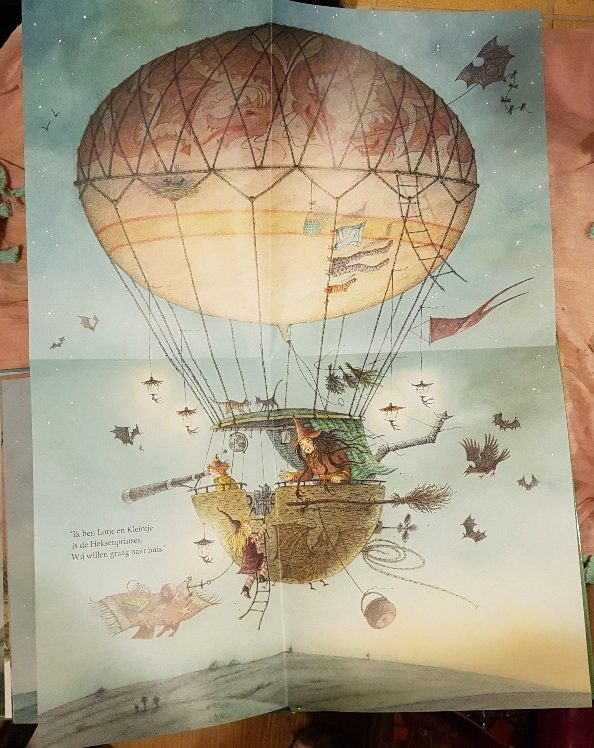 grote poster luchtballon lotje