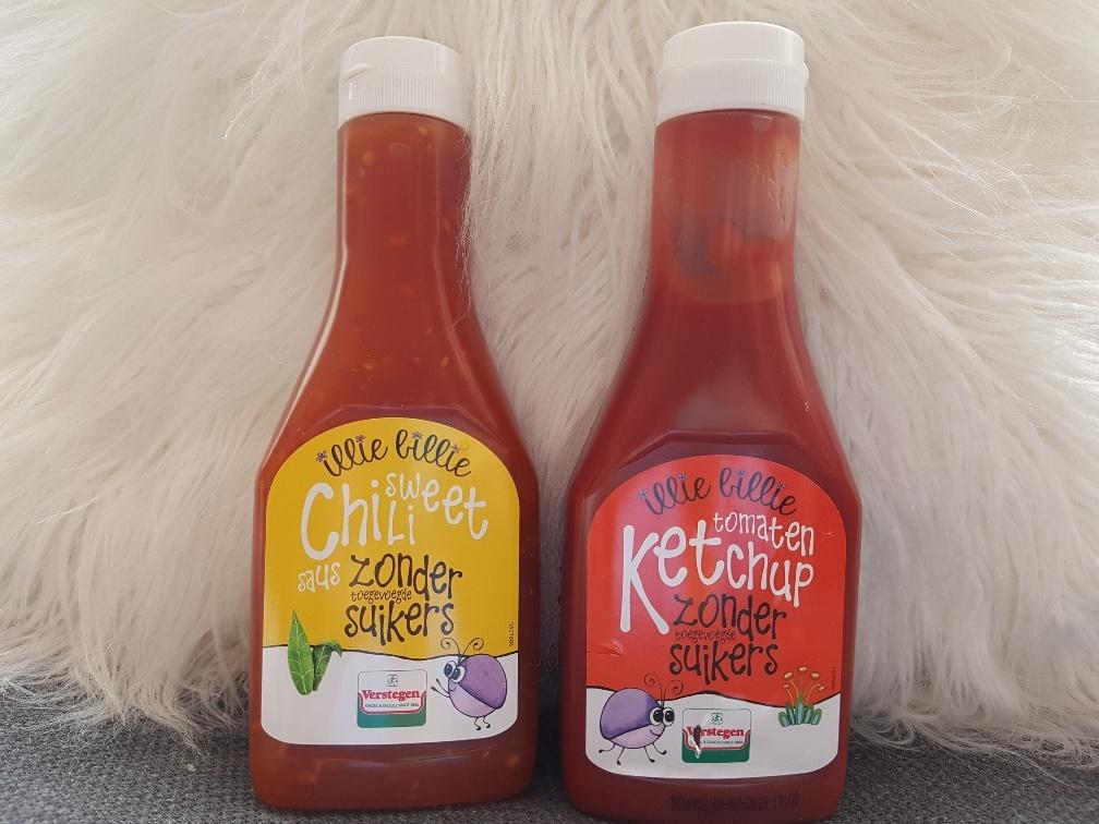 ketchup zonder suiker en chili saus zonder suiker