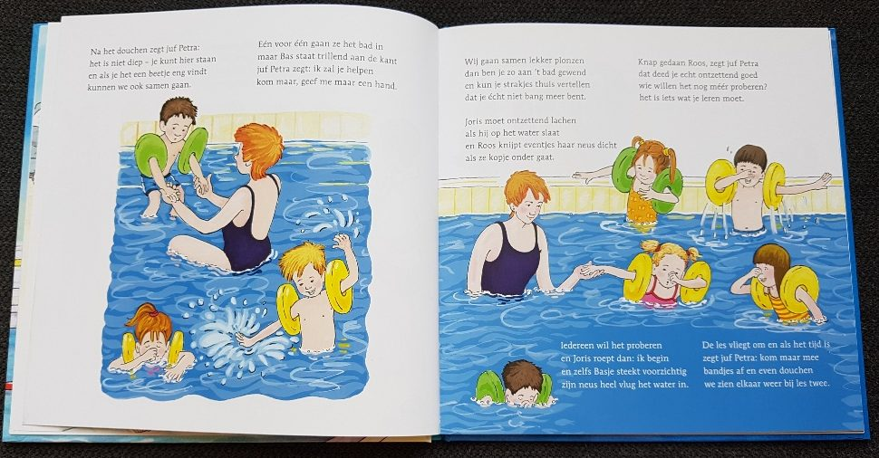 veilig zwemmen van baby tot kleuter