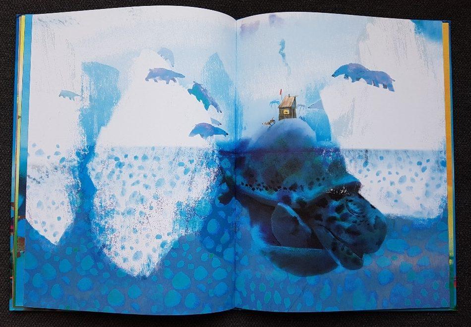 eiland prentenboek zonder woorden