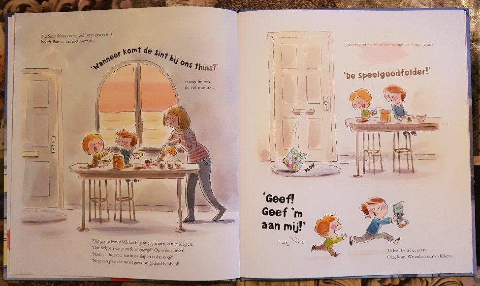 prentenboek over Sinterklaas