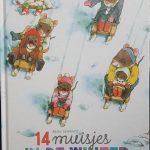prentenboek met sneeuwpret