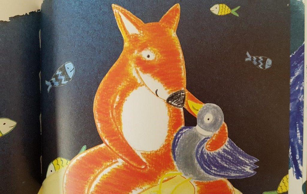 vos wil naar de maan