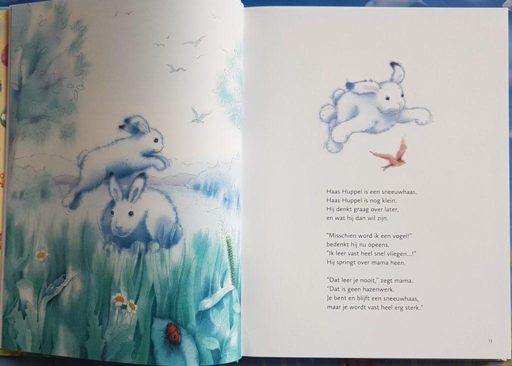 paasverhaal met sneeuwhaas