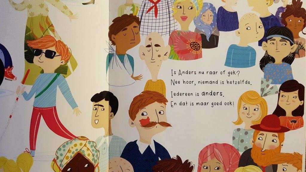 prentenboek over anders zijn