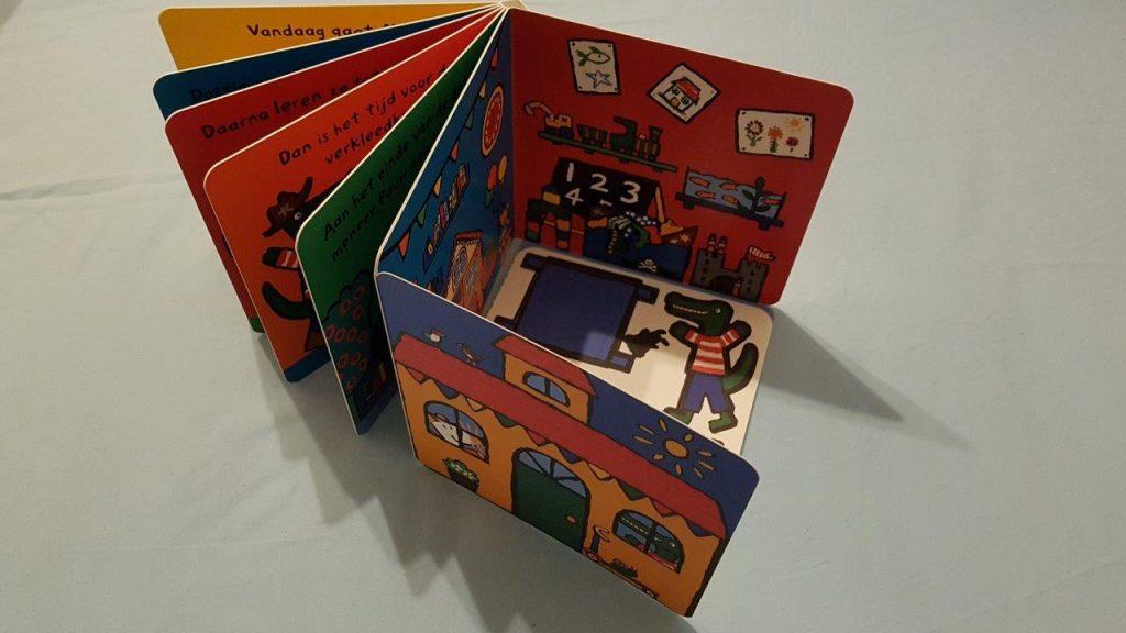 Flapjes en pop-up boeken, Billen en de crèche van Muis