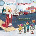 Daar is Sinterklaas Vivian den Hollander, peuterboek kleuterboek