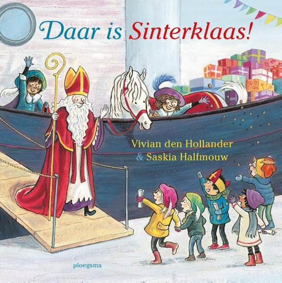 Daar is Sinterklaas