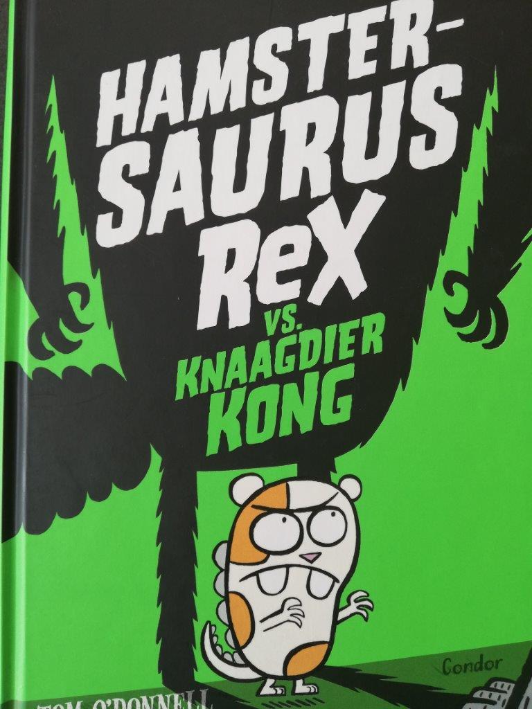 Hamstersaurus Rex VS. Knaagdier Kong
