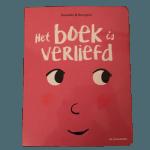 Het boek is verliefd valentijnsdag liefde peuterboek kleuterboek