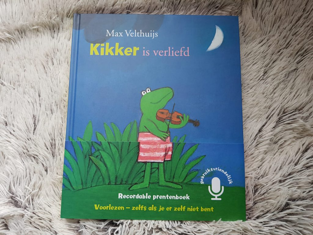 Kikker is verliefd - recordable prentenboek