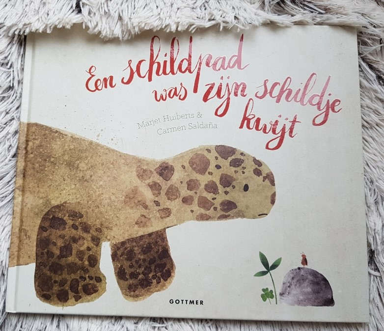 een schildpad was zijn schildje kwijt nationale voorleesdagen prentenboek top 10