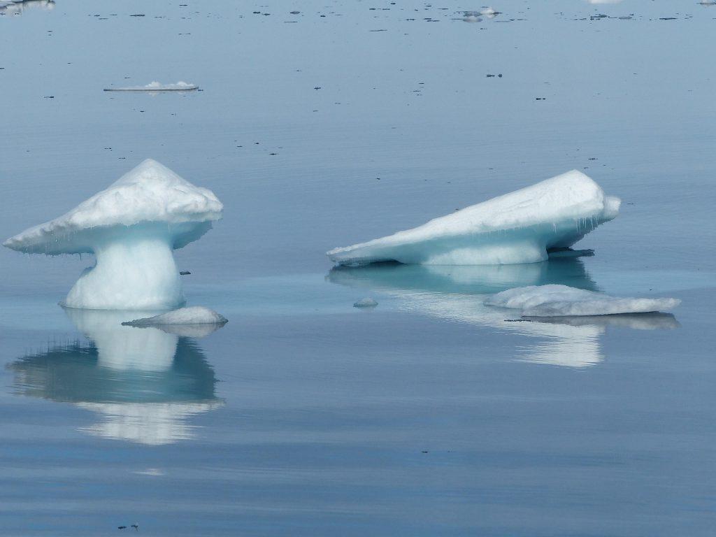 smeltende ijskappen spitsbergen