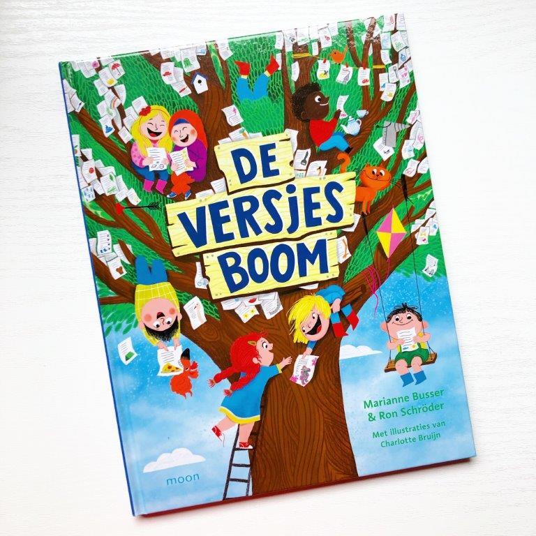 de versjesboom Marianne Busser & Ron Schröder Over Amstel uitgevers Charlotte Bruijn