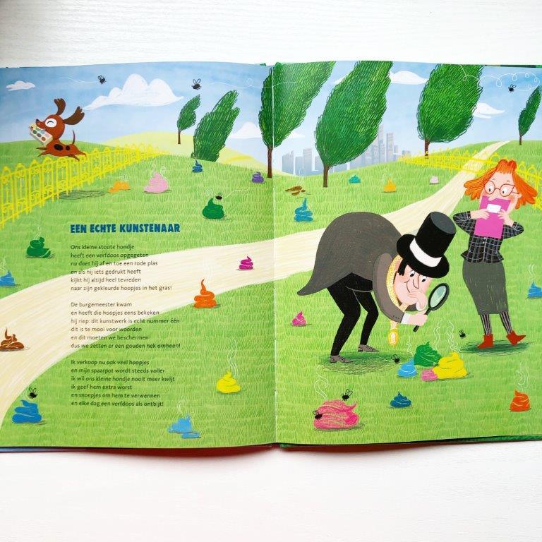 de versjesboom Marianne Busser & Ron Schröder Over Amstel uitgevers Charlotte Bruijn een echte kunstenaar