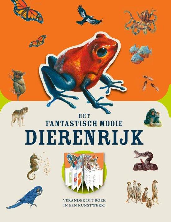 Het fantastisch mooie dierenrijk. Verander het boek in een kunstwerk. Bedreigde dieren, Moira Butterfield Stuart Martin