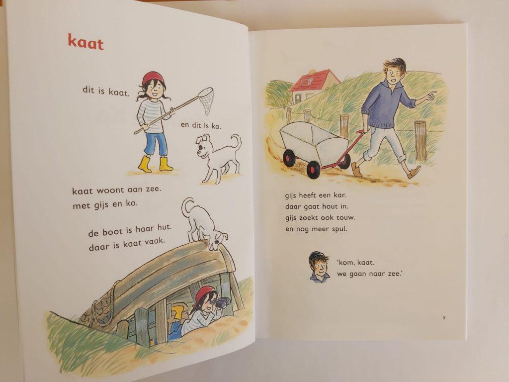 Piraat Kaat Vivian den Hollander Saskia Halfmouw AVI M3 en AVI M4 2 boeken in 1 boek