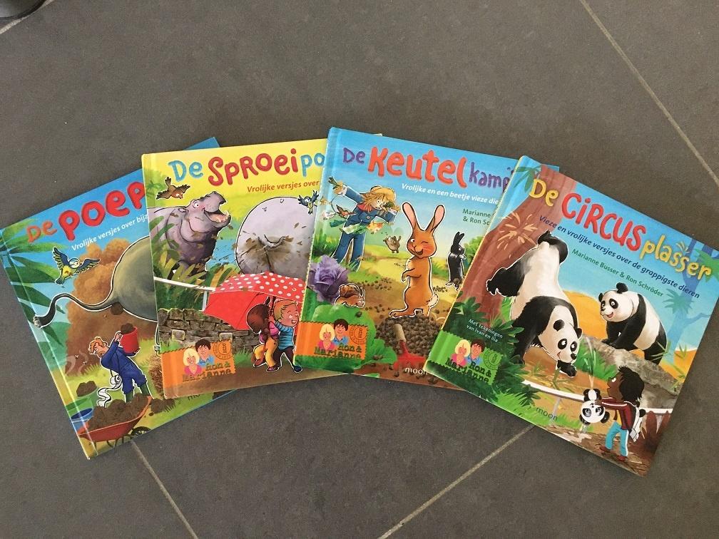 serie van vieze versjes De circusplasser met vrolijke versjes over de grappigste dieren van Marianne Busser en Ron Schroder