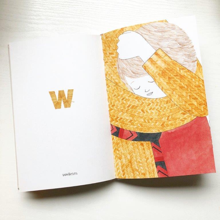 vandaag voel ik me een abc van gevoelens boek voor kinderen de w van welkom