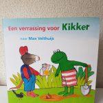 Een verrassing voor Kikker Max Velthuijs groeien en bloeien, bloembol voorjaar lente