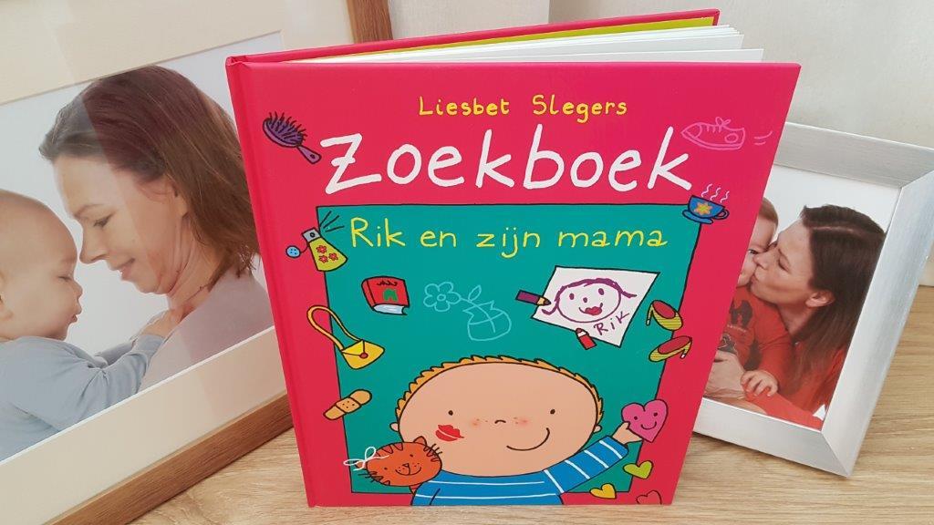 Zoekboek Rik en zijn mama moederdag