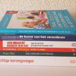 boeken voor thuis studerende zij-instromers om verslagen mee te maken van de pabo opleiding