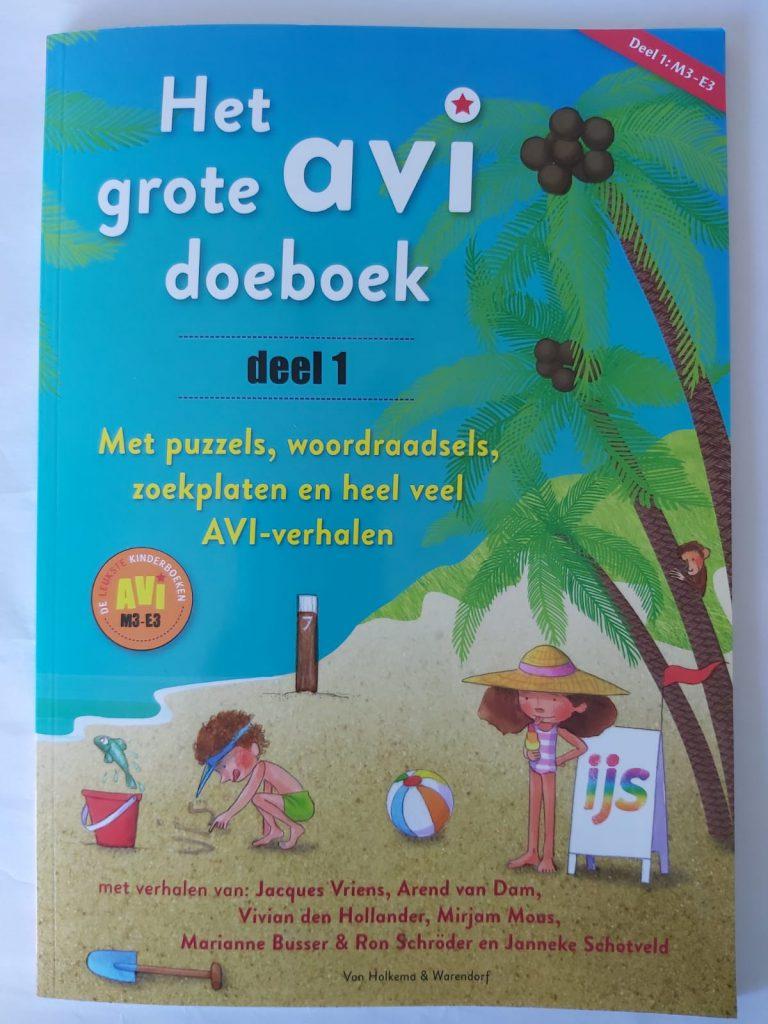 AVI doeboek met puzzels woordraadels AVI M3 E3
