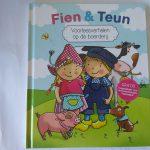 Fien en Teun voorleesverhalen op de boerderij