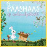 de paashaas op cadeautjestocht zoekboek kijkboek uitgeverij Clavis pasen lente paashaas