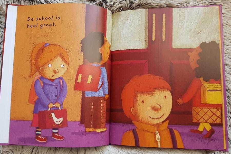 naar school prentenboek