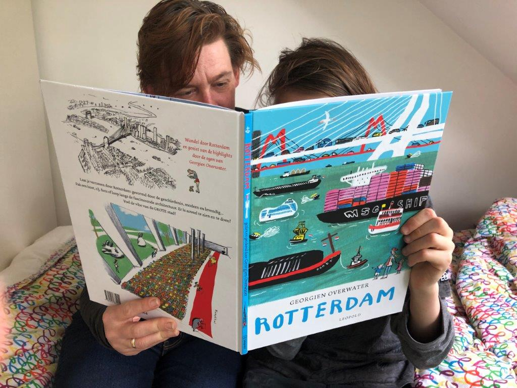 Rotterdam door Georgien Overwater
