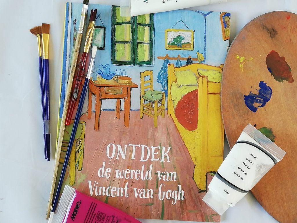 ontdek de wereld van Vincent van Gogh uitgeverij Rubinstein