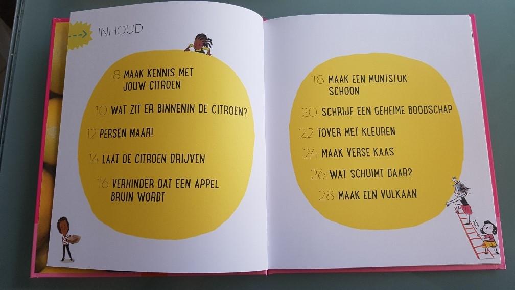 prentenboek over groente en fruit de wetenschap van de citroen